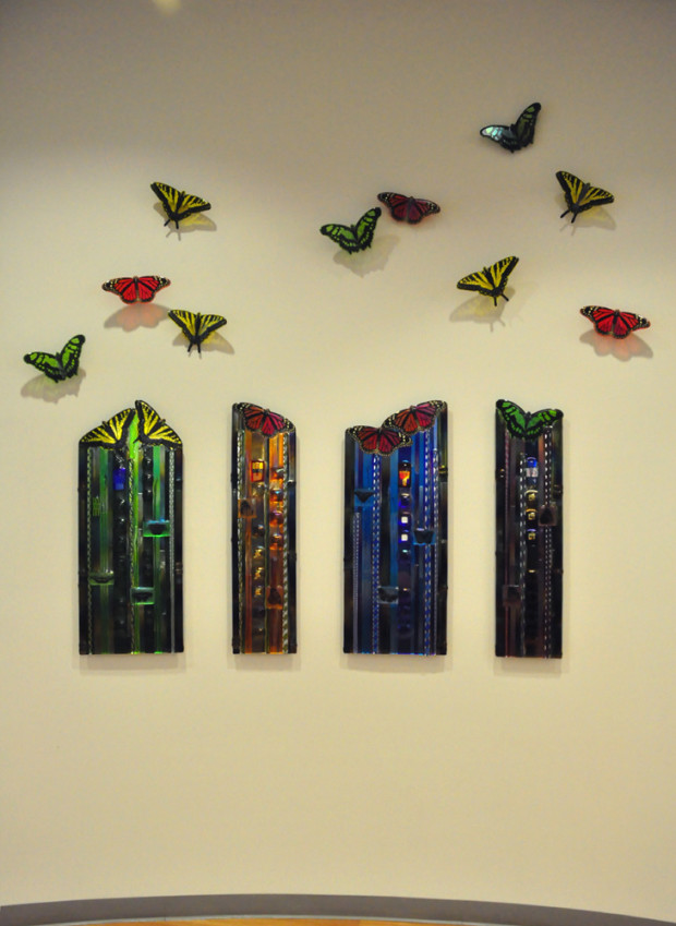 Project: Glass Butterfly Wall - CODAworx