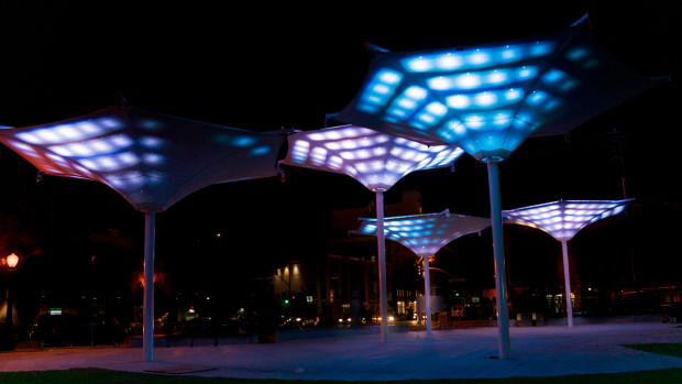 Lovely Interactive Lighting Installation