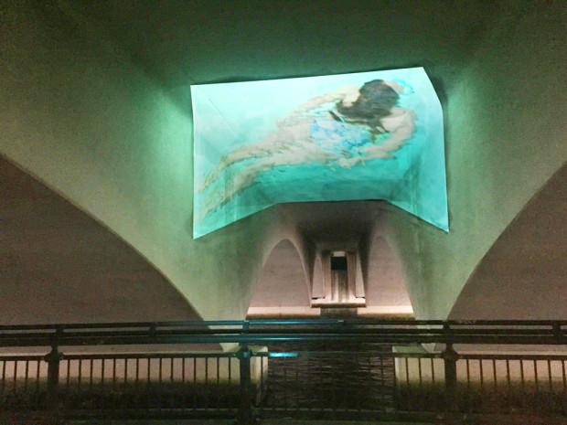 Submerge, Public Art Video Installation