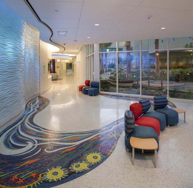 San Diego Interior Designers: Project: Rady Children's Hospital