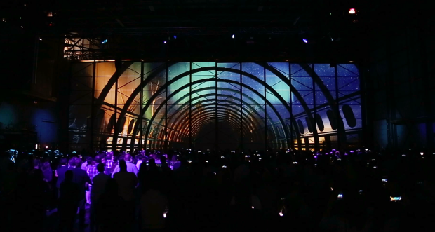 WestJet Projection Mapping Experience
