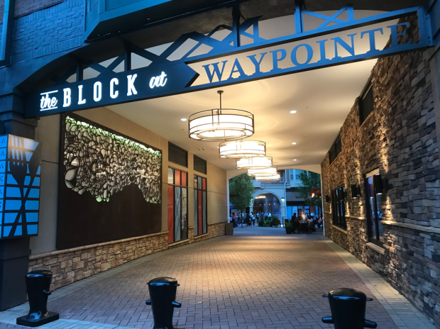 The WayPointe, a mixed use development