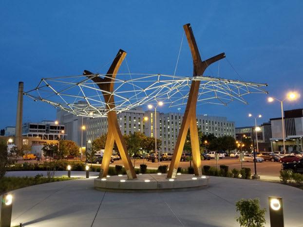 Regenstrief Institute Courtyard Sculpture