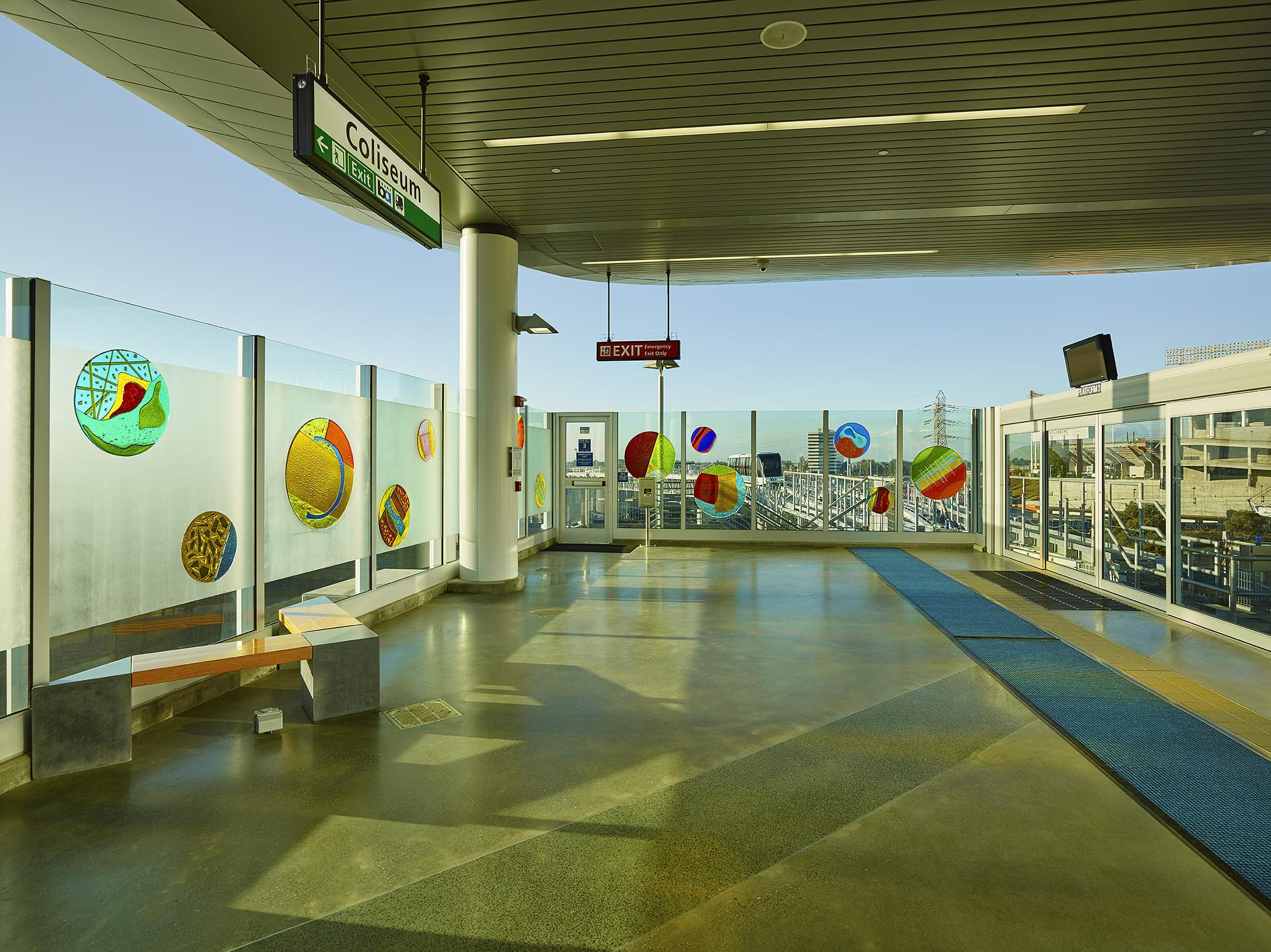 A-Round Oakland   BART Station