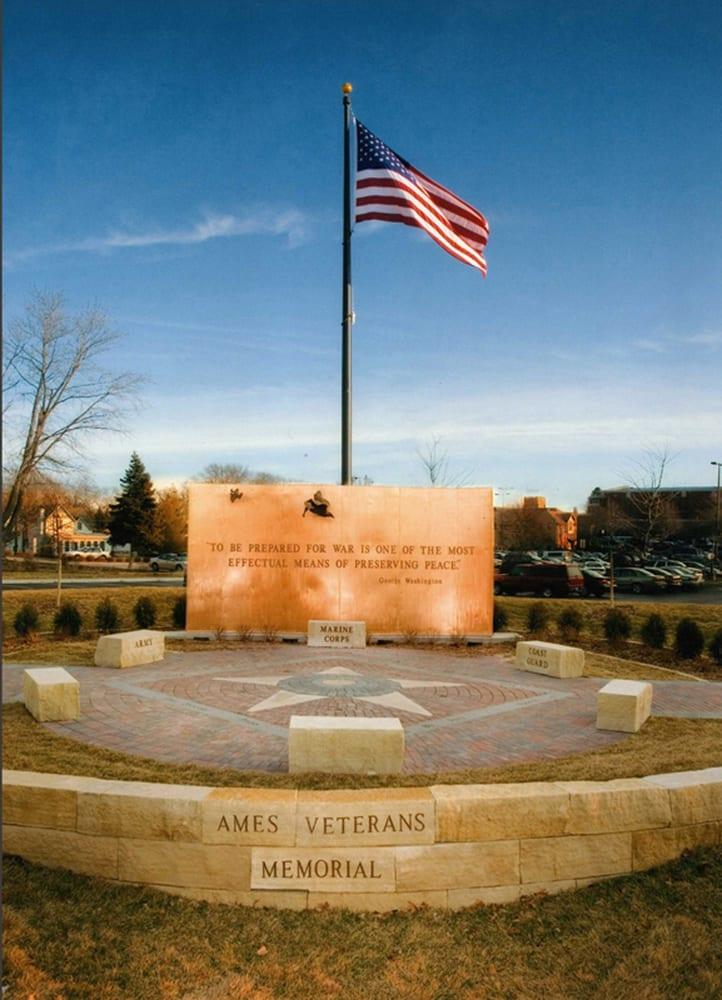 Descending Strength, Ascending Peace, Veterans Memorial