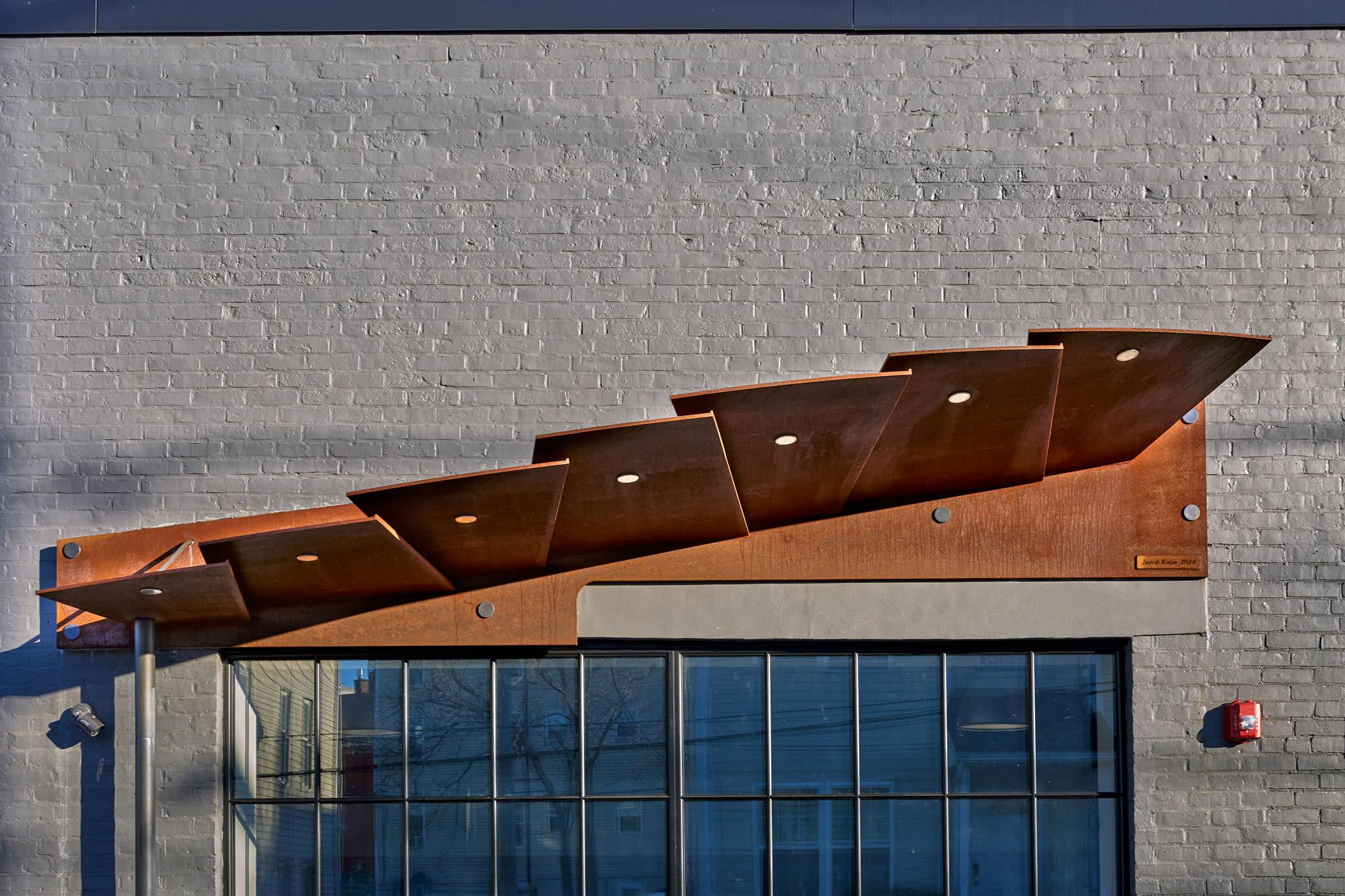 Sculptural Entrance Canopy