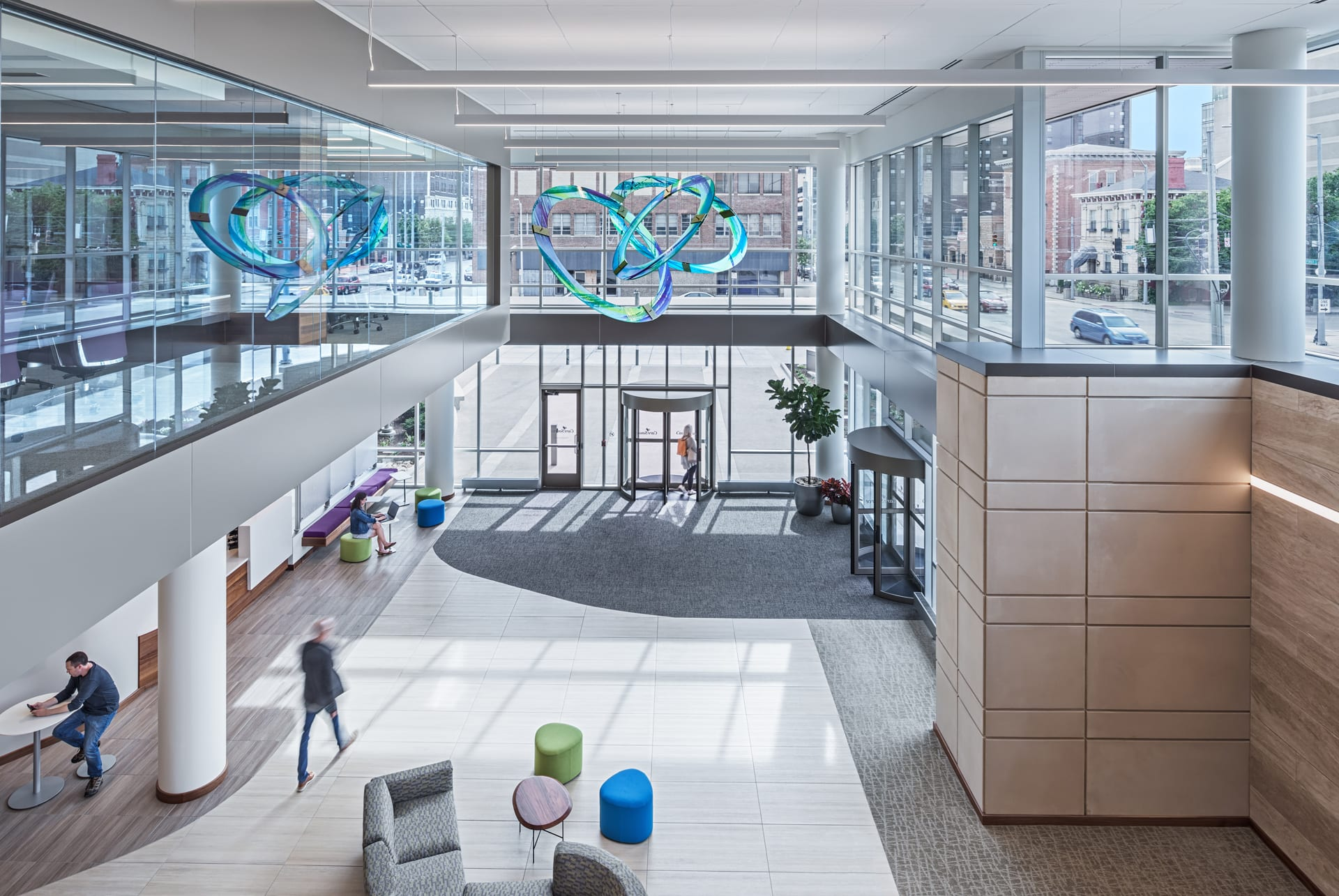 Corporate Office Lobby Sculpture