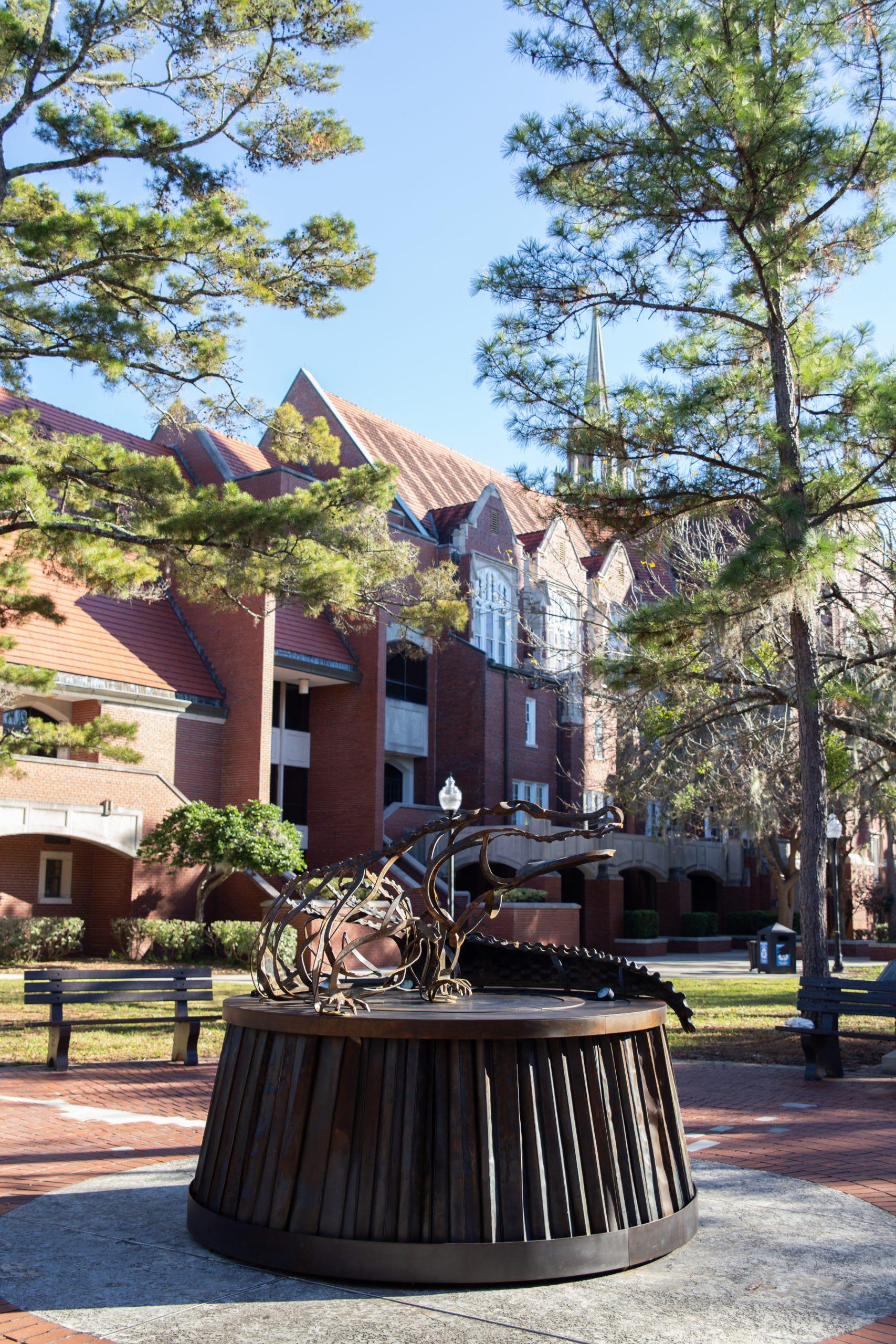 University of Florida Lighted Gator