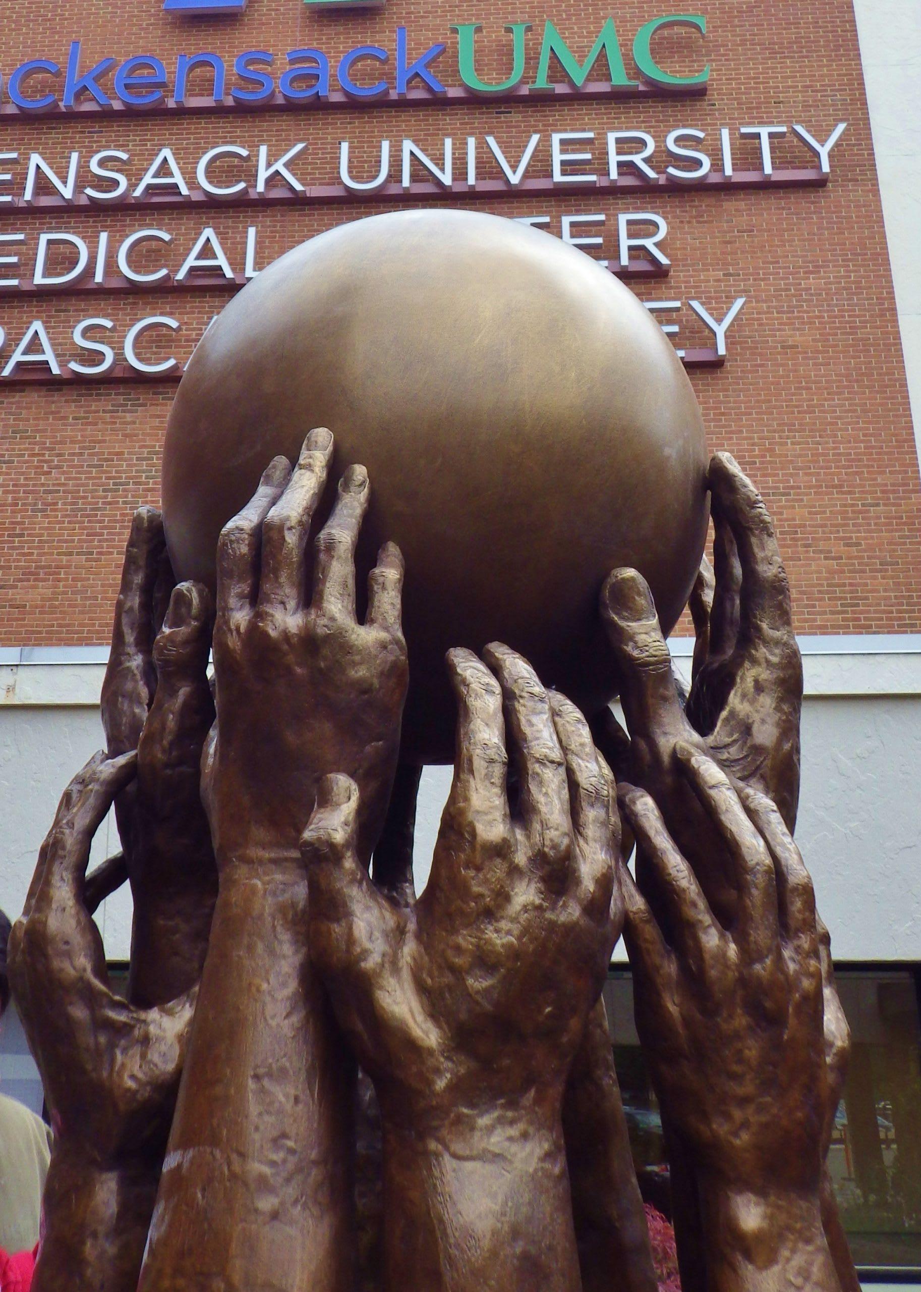 Community Spirit Sculpture -NJ Hospital