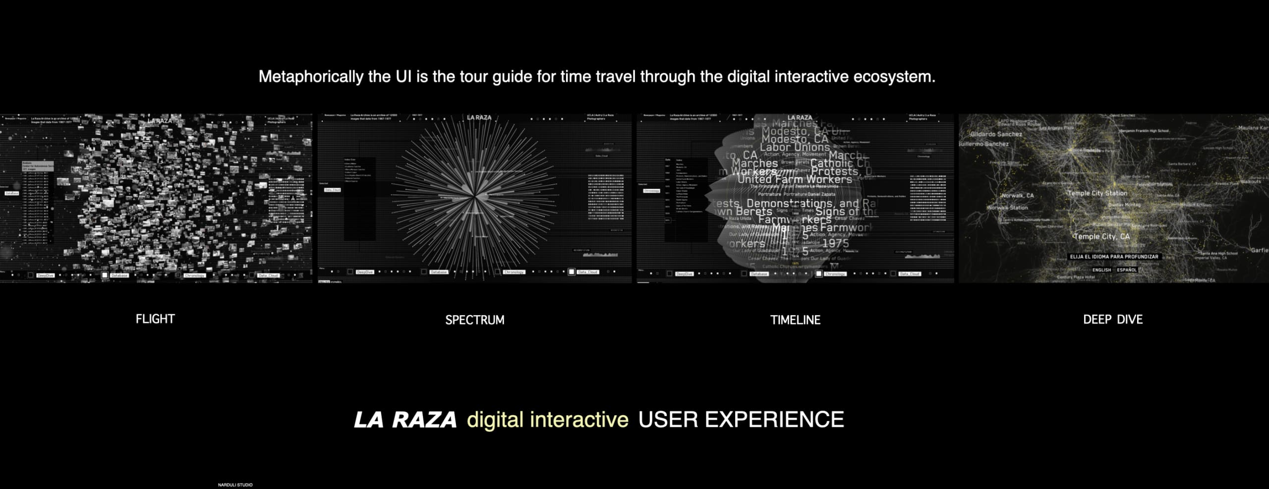 La Raza Interactive Experience