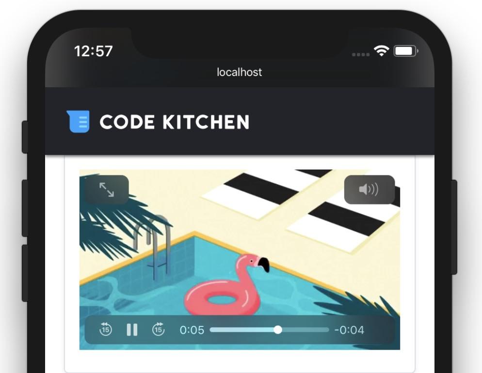 iOSで動画をインライン再生