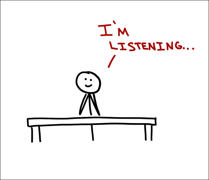 I'm Listening Image