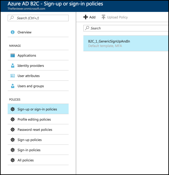 Multi-Factor Authentication in Azure AD B2C