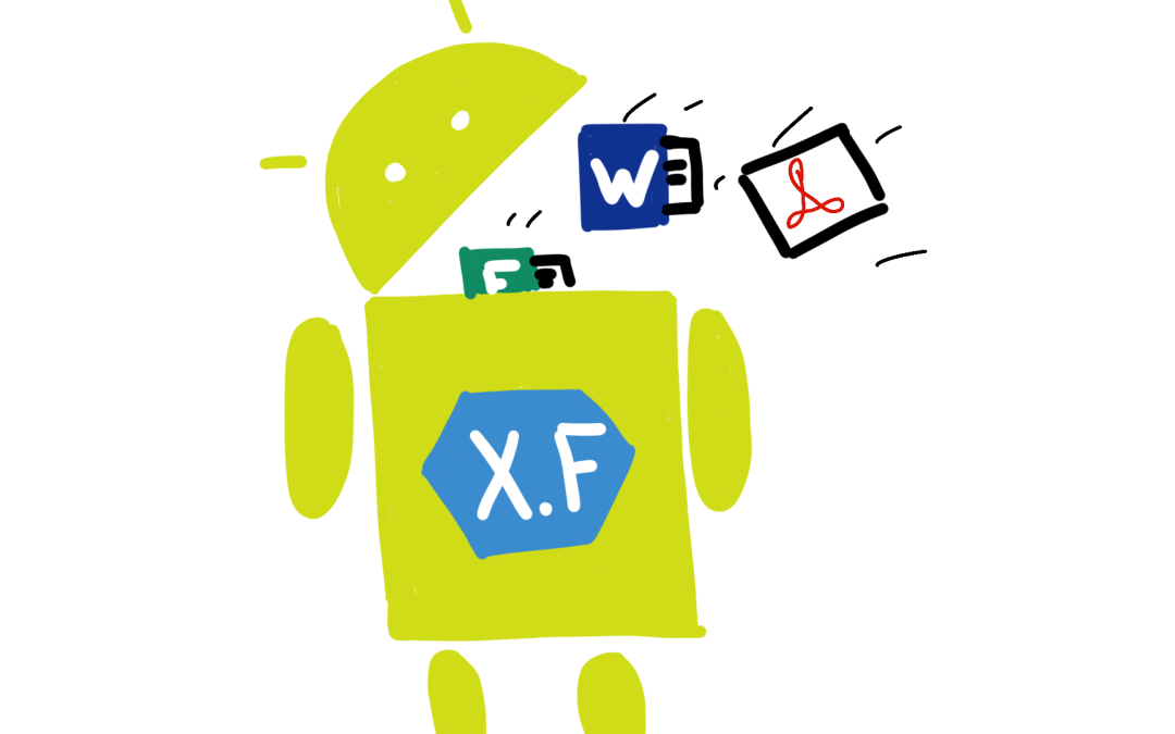 Sending Files to a Xamarin.Forms App – Part 2: Android
