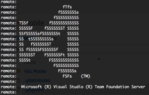 TFS Git Cloning!