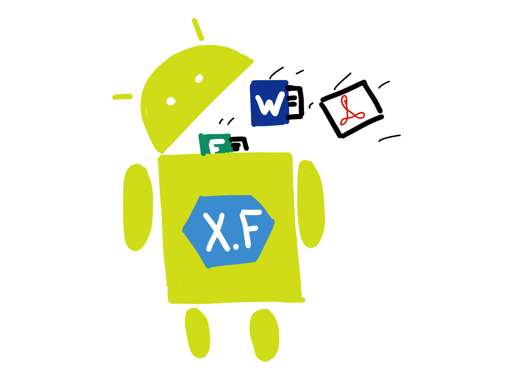 Sending Files to a Xamarin Forms App - Part 2: Android