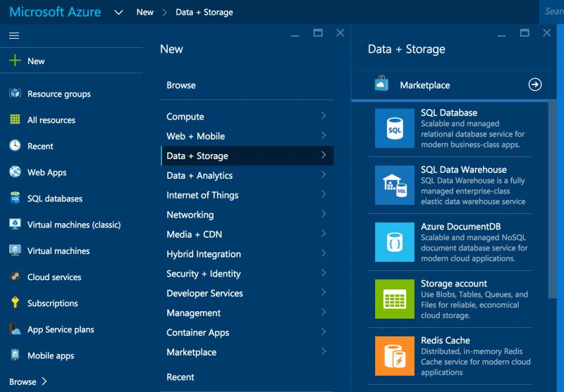 Azure Storage Setup