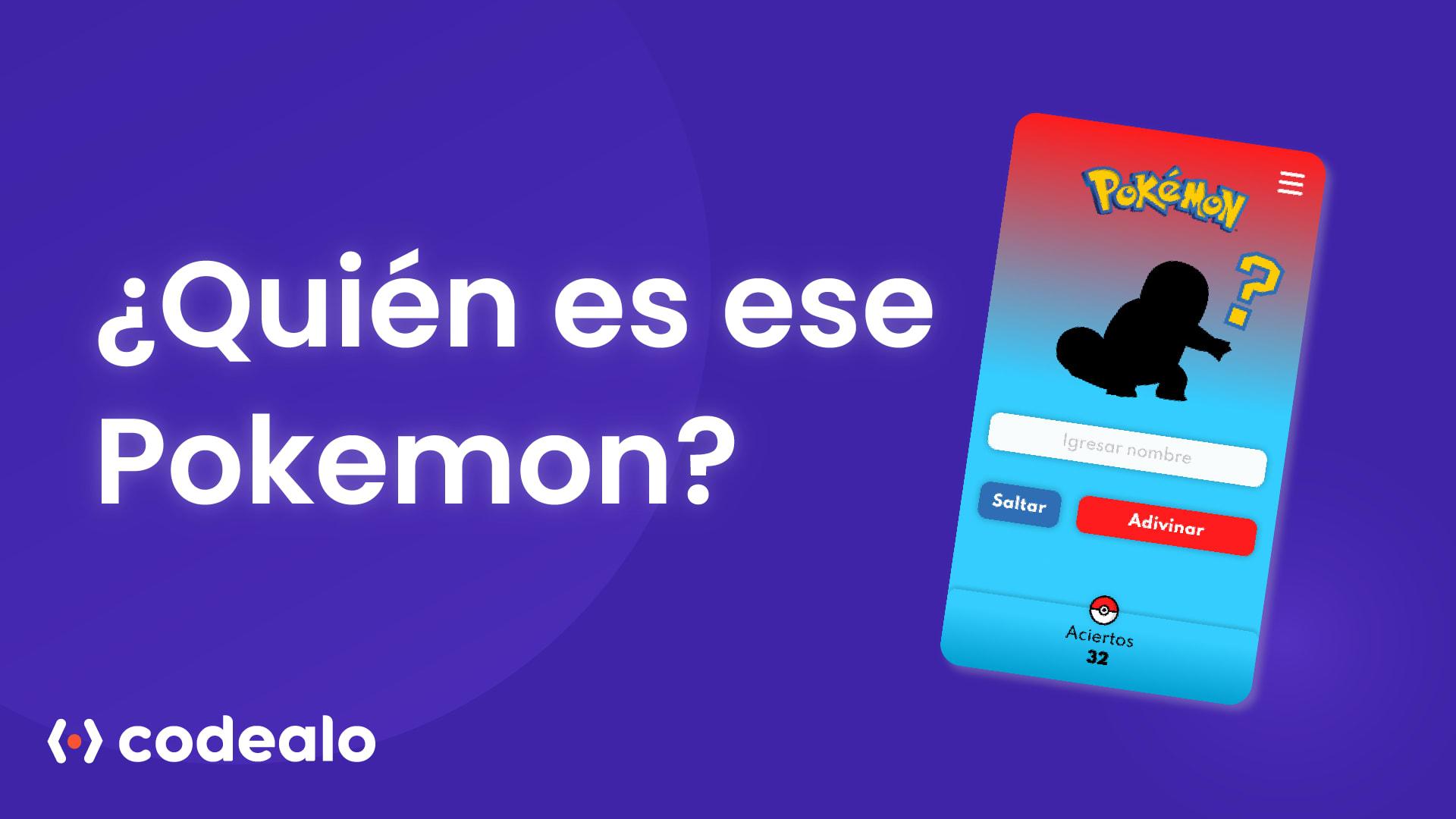 Quien es ese pokemon banner