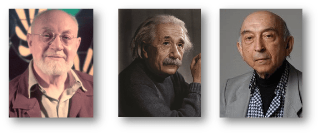Henri Matisse , Albert Einstein and Lotfi Zadeh