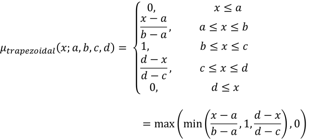 Trapezoidal MF equation