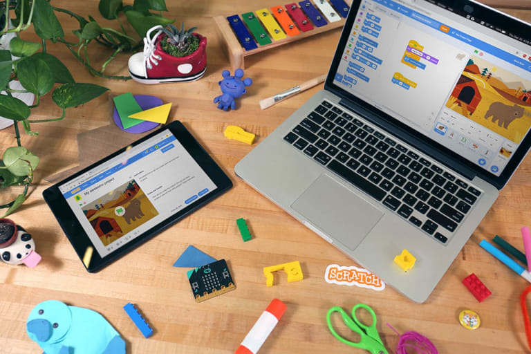 Build a Video Game with Scratch