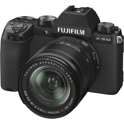 FUJIFILM X-S10 WITH 18-55MM LENS MIRRORLESS DIGITAL CAMERA