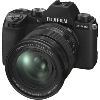 FUJIFILM X-S10 WITH 16-80MM LENS MIRRORLESS DIGITAL CAMERA