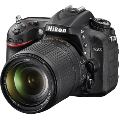 NIKON D7200 WITH 18-140MM