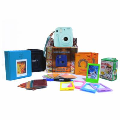FUJIFILM MINI 9 FESTIVAL BOX (COBALT BLUE)
