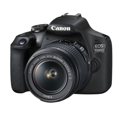 CANON 1500D WITH 18-55MM IS II LENS