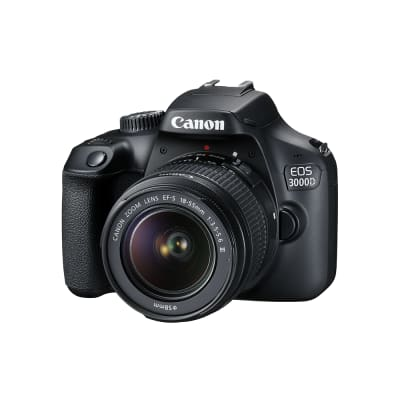 CANON 3000D WITH 18-55MM IS II LENS