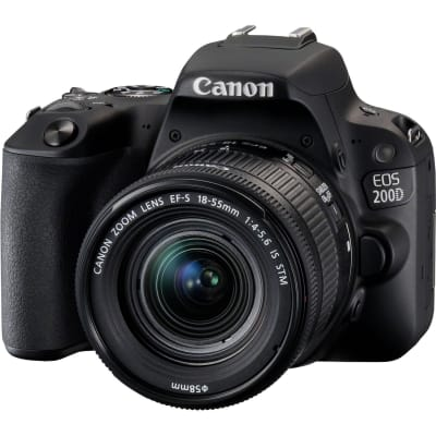 CANON 200D WITH 18-55MM IS STM LENS