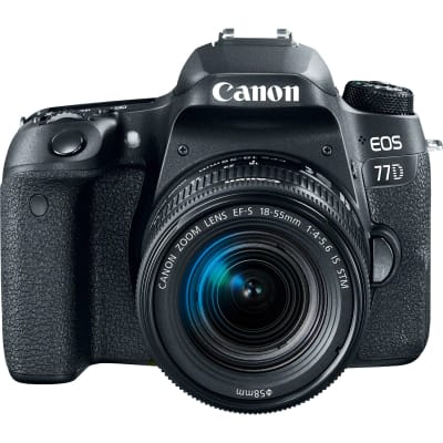 CANON 77D WITH 18-55MM IS STM LENS