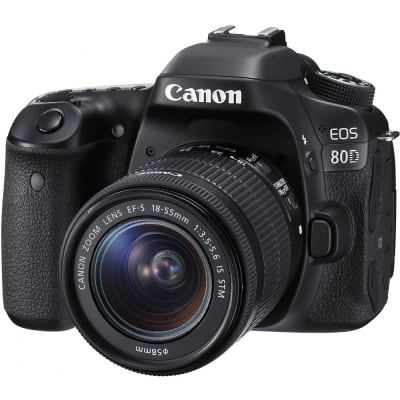 CANON 80D WITH 18-55MM IS STM LENS