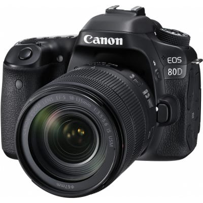 CANON 80D WITH 18-135MM IS STM LENS