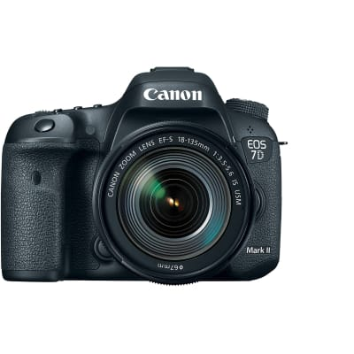 CANON 7D MARK 2 WITH 18-135MM USM LENS