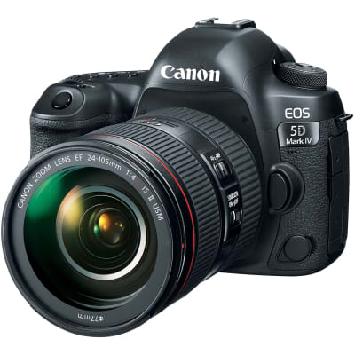CANON 5D MARK 4 WITH 24-105MM F4 L IS II USM