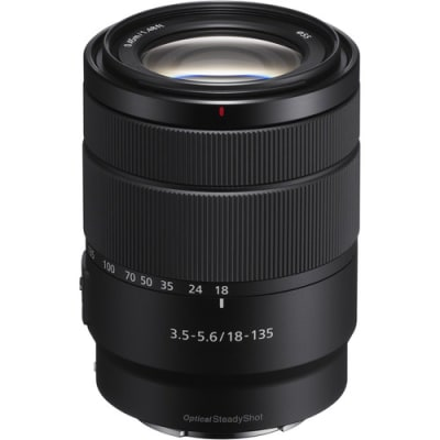 SONY 18-135MM F3.5-5.6 OSS SEL18135