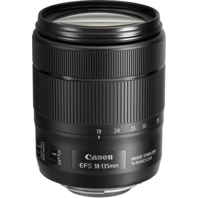 CANON EF S 18-135MM F/3.5-5.6 IS USM