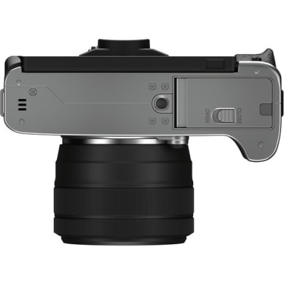 FUJIFILM X-T200 15-45MM MIRRORLESS CAMERA SILVER