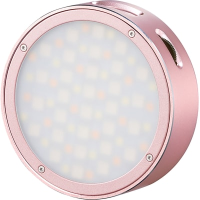 GODOX ROUND MINI RGB LED MAGNETIC LIGHT (PINK)