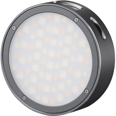 GODOX ROUND MINI RGB LED MAGNETIC LIGHT (GRAY)