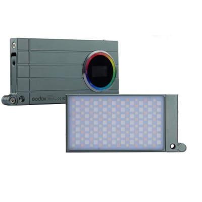 GODOX RGB MINI CREATIVE M1 ON-CAMERA VIDEO LED LIGHT GREEN