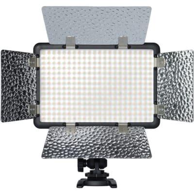 GODOX LF308BI VARIABLE COLOR LED VIDEO LIGHT WITH FLASH SYNC