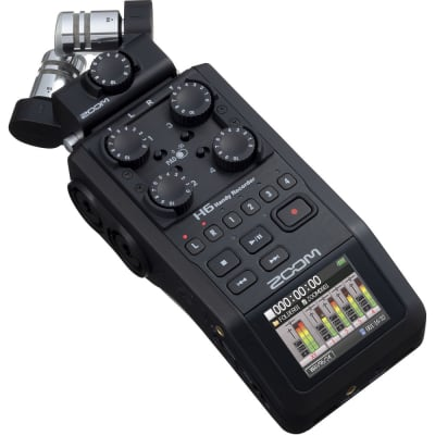 ZOOM H6 HANDY RECORDER (BLACK)