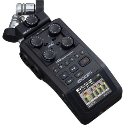 ZOOM H6 HANDY RECORDER (BLACK)