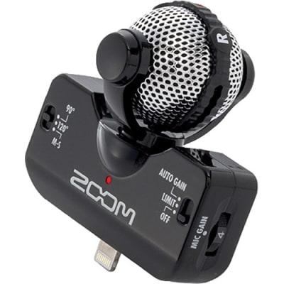 ZOOM IQ5 BLACK / WHITE PROFESSIONAL STEREO MICROPHONE