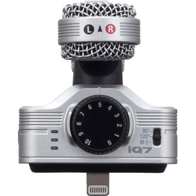 ZOOM IQ7 MS STEREO MICRIPHONE FOR IOS DEVICES