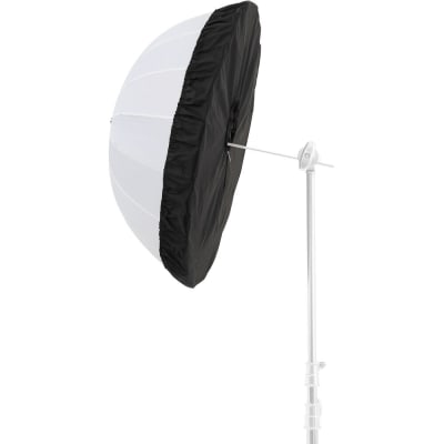 "GODOX DPU-85BS BLACK AND SILVER DIFFUSER FOR 34"" PARABOLIC UMBRELLAS"