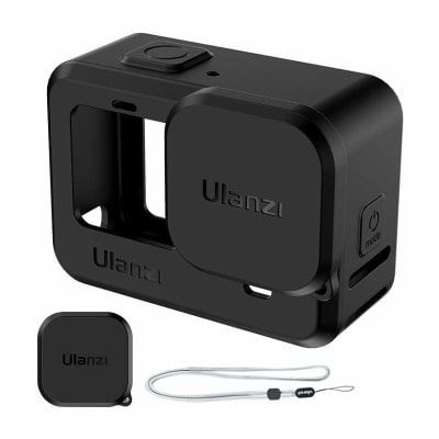 ULANZI G9-1 SILICONE CAGE WITH LENS CAP FOR GOPRO HERO 9